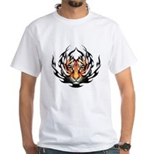 Tribal Flame Tiger Shirt