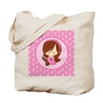 Violinist Girl Music Tote Bag