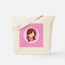 Violinist Girl Music Tote Bag