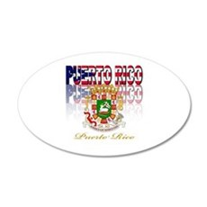 Puerto Rican pride Wall Decal