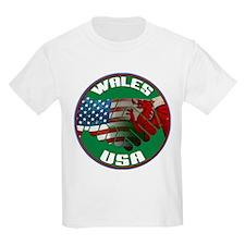 Wales USA Friendship T-Shirt