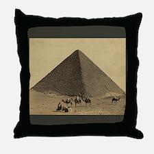Egyptian Pyramid Throw Pillow