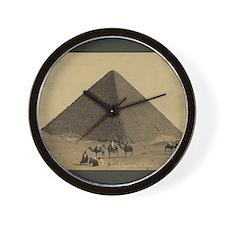 Egyptian Pyramid Wall Clock