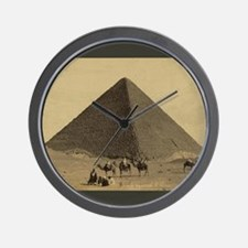 Egyptian Pyramid Wall Clock