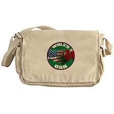 Wales USA Friendship Messenger Bag