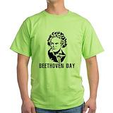Beethoven Green T-Shirt