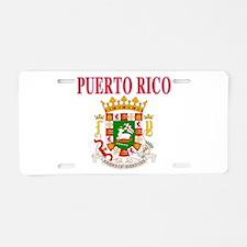Puerto Rican pride Aluminum License Plate