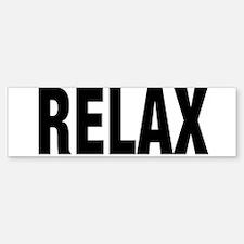 FRANKIE SAYS RELAX Bumper Bumper Bumper Sticker
