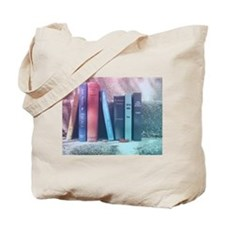 Staircase of Books Tote Bag