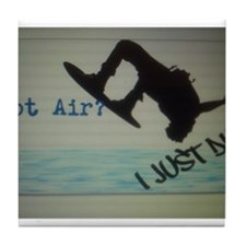 Got Air? I Just Did Tile Coaster