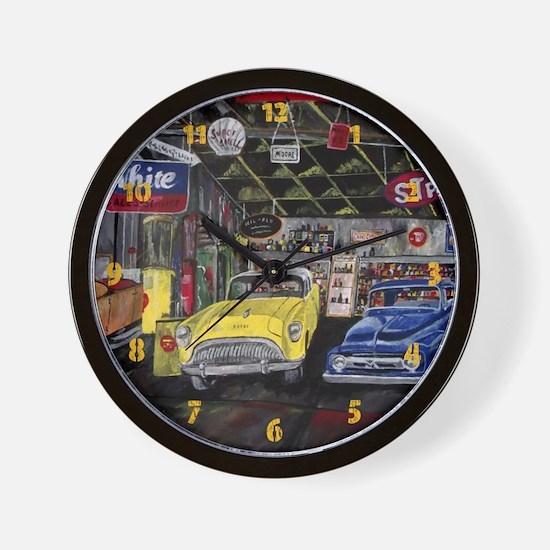 Old Classic Car Wall Clock