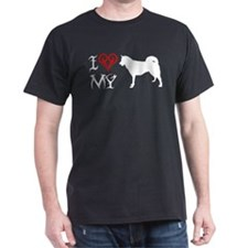 Greenland Dog Black T-Shirt