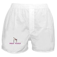 Cute Track field girl Boxer Shorts
