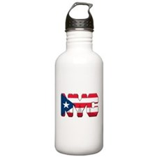 New York Puerto Rican Water Bottle