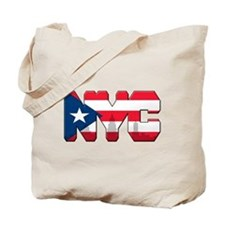 New York Puerto Rican Tote Bag