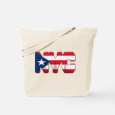 New York Puerto Rican Tote Bag