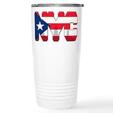 New York Puerto Rican Travel Mug