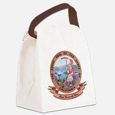 California Seal.png Canvas Lunch Bag