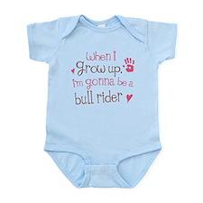 Kids Future Bull Rider Infant Bodysuit