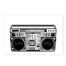 BOOM BOX OLD SCHOOL Postcards (Package of 8)