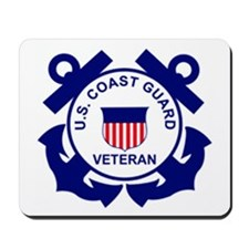 Coast Guard Veteran Anchor Mousepad