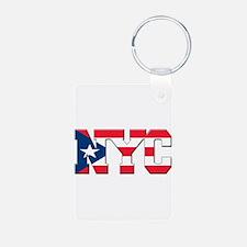 New York Puerto Rican Keychains