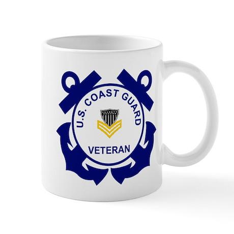 Coast Guard Veteran Coffee Cup (PO1)