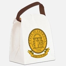 Georgia Seal.png Canvas Lunch Bag