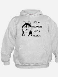 Its a Malamute not a Husky Hoodie