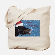 Fun Christmas Horse Tote Bag