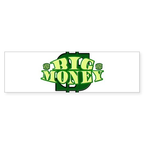 BIG MONEY.png Sticker (Bumper)