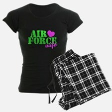 Air Force Lime Green Heart Pajamas