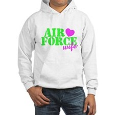 Air Force Lime Green Heart Hoodie