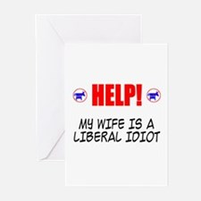 Liberal Wife Greeting Cards (Pk of 10)