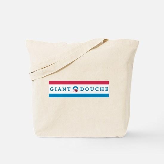 Giant Douche 2012 Bumper Sticker Tote Bag