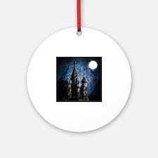 Cute St. basils Round Ornament