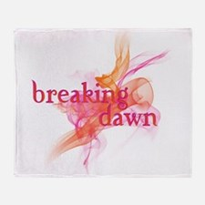 Breaking Dawn Sunrise Throw Blanket