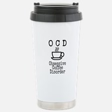 OCD - Obsessive Coffee Disorder Travel Mug