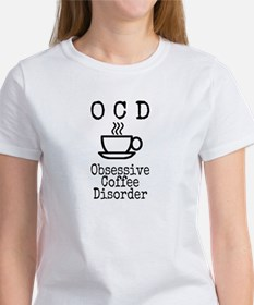 OCD - Obsessive Coffee Disorder Women's T-Shirt