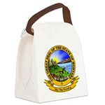 Montana Seal.png Canvas Lunch Bag