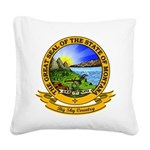 Montana Seal.png Square Canvas Pillow
