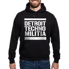 Detroit Techno Militia Hoodie (Dark)