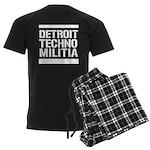 Detroit Techno Militia Gear Men's Dark Pajamas