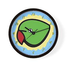 Anime Indian Ringneck Parakeet Clock