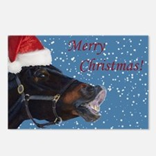 Fun Christmas Horse Postcards (Package of 8)