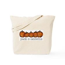 Pack-O-Lanterns Halloween Tote Bag