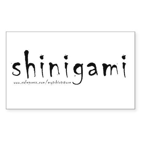 shinigami Rectangle Sticker