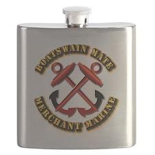 USMM - Boatswain Mate Flask