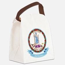 Virginia Seal.png Canvas Lunch Bag