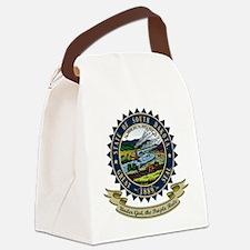 South Dakota Seal.png Canvas Lunch Bag